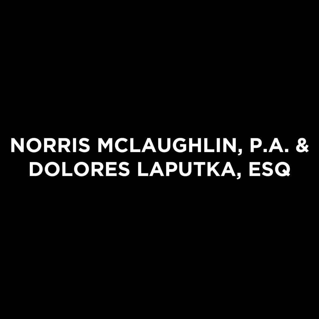 Norris McLaughlin, P.A. & Dolores Lap