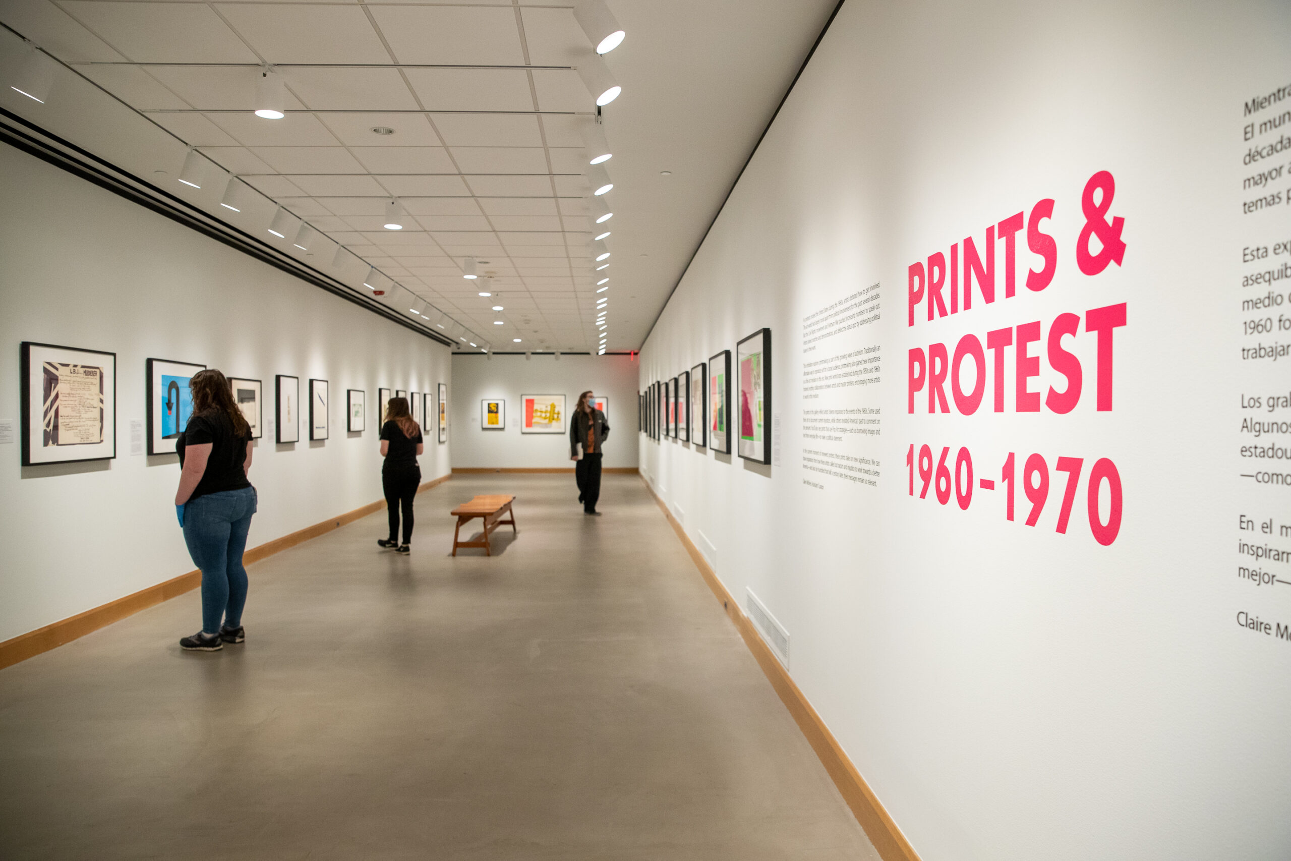 Prints and Protest, 1960–1970