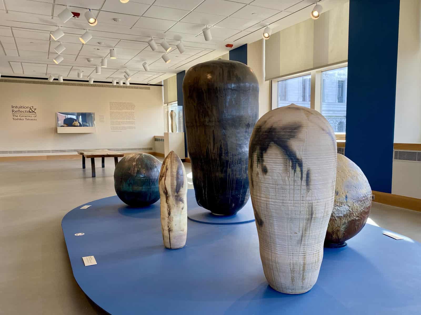 Intuition & Reflection: The Ceramics of Toshiko Takaezu